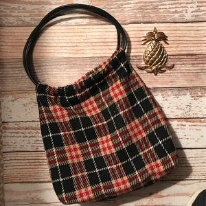 Burberry Wool Shoulder Bag